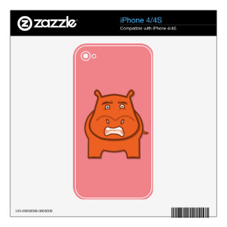 Expressively Playful Jack bondswell Mascot Decals For iPhone 4S