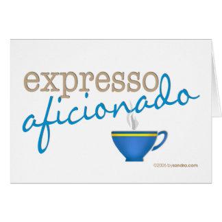 Expresso Aficionado Card