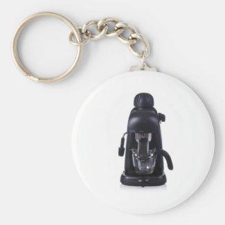 expresso coffee maker keychain