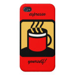 expresso iPhone 4/4S carcasas