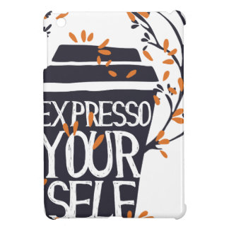 expresso your self cover for the iPad mini