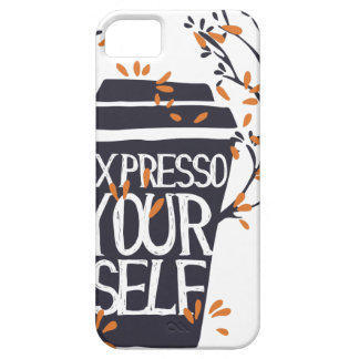 expresso your self iPhone SE/5/5s case