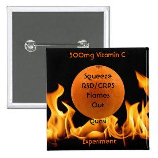 Exprima hacia fuera RSD/CRPS 500mg de la vitamina  Pin