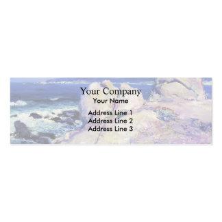 Exprimidor del punto de las rocas del individuo su tarjetas personales