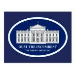 Expulse al titular - casa 2012 de la libertad tarjeta postal