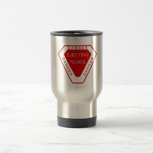 ¡Expulsión de los líquidos! Taza De Café
