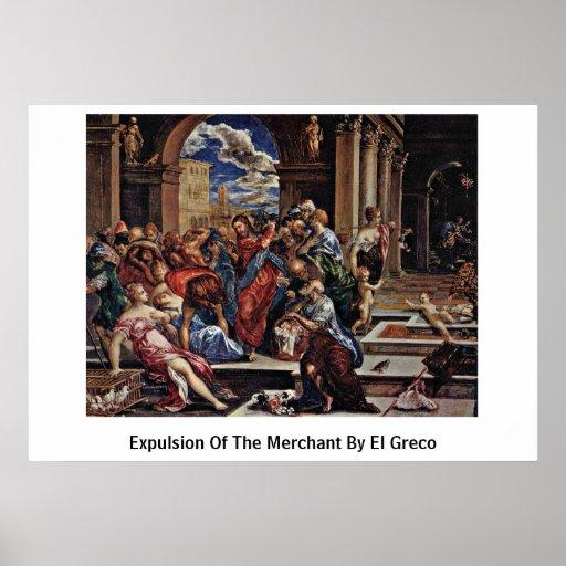 Expulsión del comerciante de El Greco Impresiones