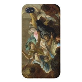 Expulsión del Huguenots iPhone 4 Protectores