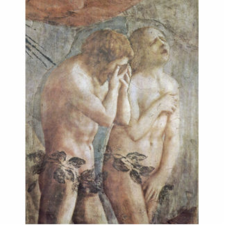 Expulsion From Paradise  By Masaccio (Best Quality Acrylic Cut Out