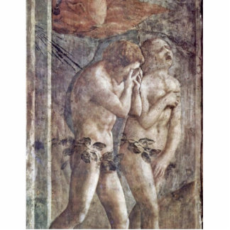 Expulsion From Paradise By Masaccio (Best Quality) Cut Outs