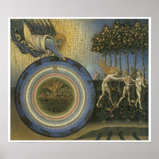 Expulsion from Paradise, c. 1445 Print
