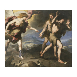 Expulsion from Paradise Stretched Canvas Prints