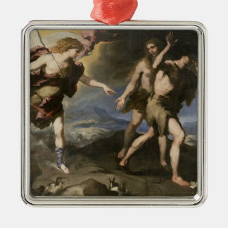 Expulsion from Paradise Metal Ornament