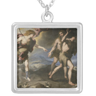 Expulsion from Paradise Silver Plated Necklace