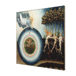 Expulsion from Paradise Stretched Canvas Print