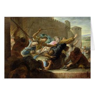 Expulsion of the Huguenots Card