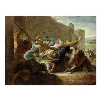 Expulsion of the Huguenots Postcard