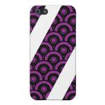 Expunge el caso del iPhone (de la púrpura) iPhone 5 Protector
