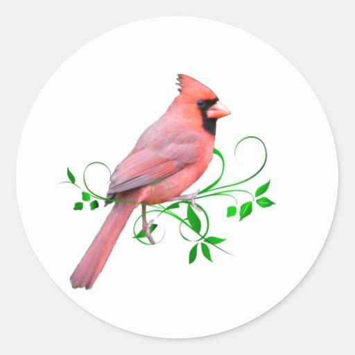 Exquisite Cardinal Sticker