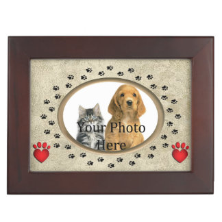Exquisite Cat or Dog Personal Memory Box