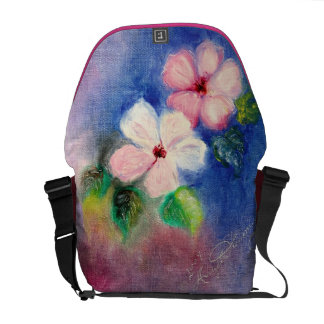 Exquisite Dogwood Floral Courier Bag