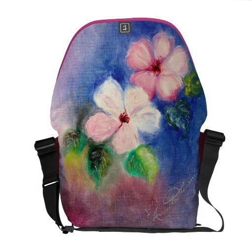 Exquisite Dogwood Floral Messenger Bags