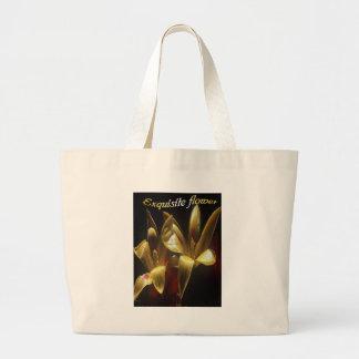 Exquisite-floweron a tote bag.
