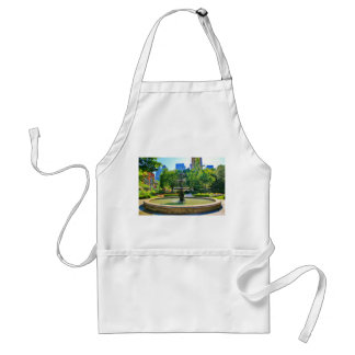 Exquisite Fountain in a Park Adult Apron
