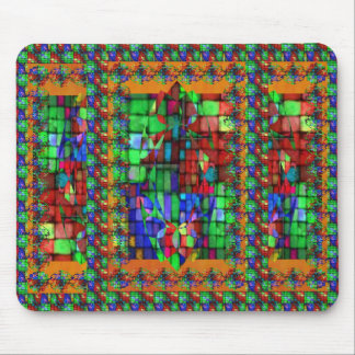 Exquisite Glass Mosiac Mouse Pad