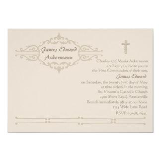 "Exquisite Invitation 5"" X 7"" Invitation Card"