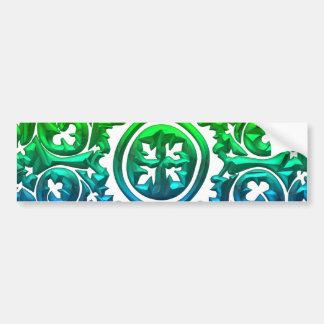 Exquisite Multicolored Symmetrical Design! Bumper Sticker
