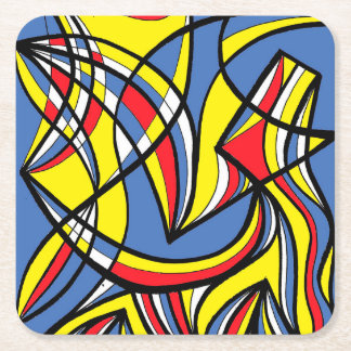 Exquisite Ready Polished Intuitive Square Paper Coaster