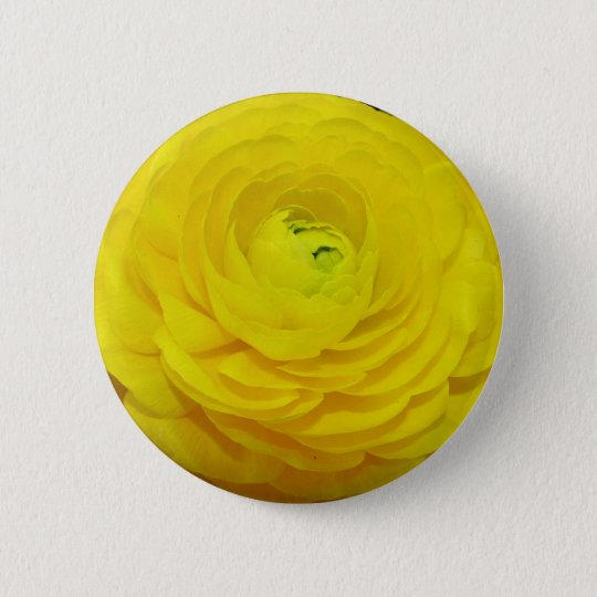 Exquisite Yellow Flower Button