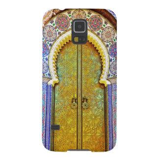 Exquisitely Detailed Moroccan Pattern Door Galaxy S5 Case