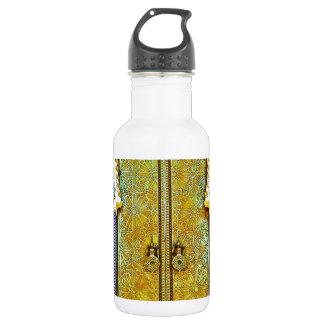 Exquisitely Detailed Moroccan Pattern Door 18oz Water Bottle