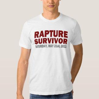 Éxtasis superviviente camisa 21 de mayo de 2011