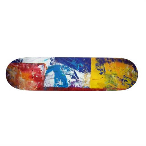 Extatic Wind Custom Skate Board