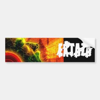 EXTAZA DJ Bumper Sticker
