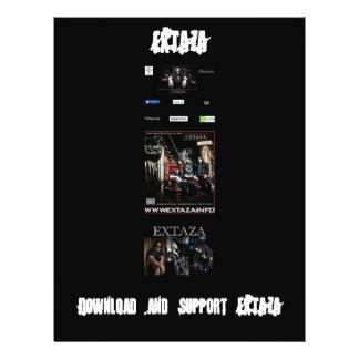 EXTAZA Download Flyer