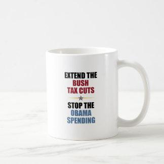 Extend The Bush Tax Cuts Coffee Mug