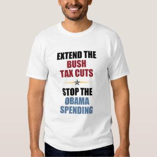 Extend The Bush Tax Cuts T Shirts
