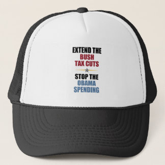 Extend The Bush Tax Cuts Trucker Hat
