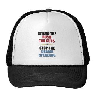 Extend The Bush Tax Cuts Trucker Hat