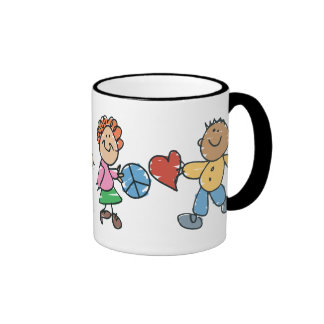 Extended Hands of Peace and Love Coffee Mug