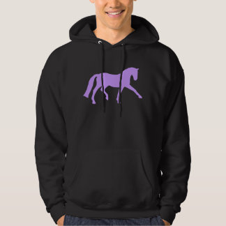 Extended Trot Dressage Horse (purple) Pullover