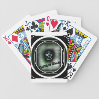 Extended Walrus Bicycle Playing Cards