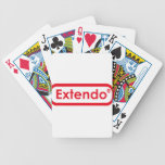 extendo bicycle playing cards