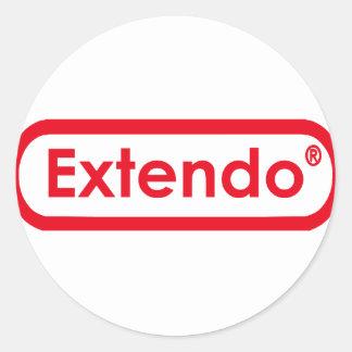 extendo classic round sticker