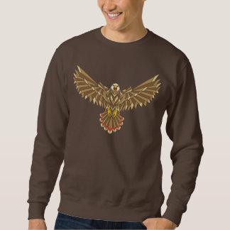 Extensión americana de las alas de Eagle calvo Sudadera Con Capucha
