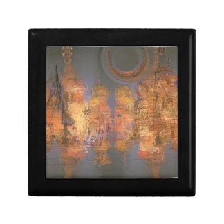 Extensión - ciudad brillante de oro del sueño caja de joyas